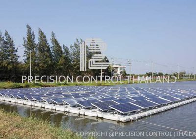 61KWp SAMUT SAKHON FLOATING SOLAR POWER PLANT