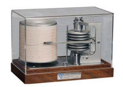 Barograph Wooden Housing