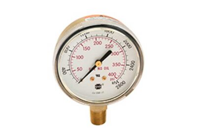 600 Compressed Gas Pressure Gauge