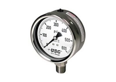 656 Liquid Filled Pressure Gauge