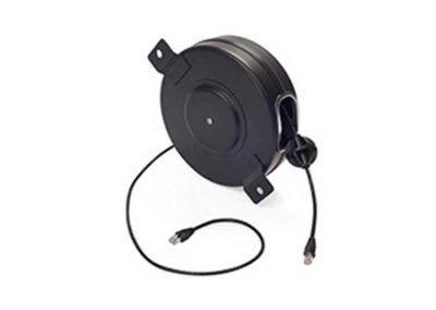 CAT5e Data Cord Reel – 9in reel, 80ft cable
