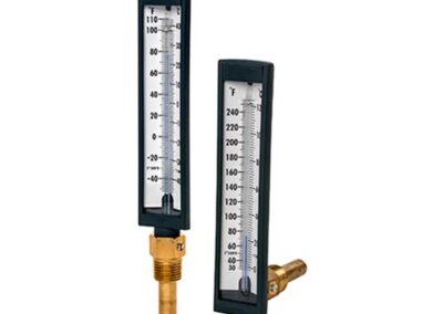 T-571 and T-572 5″ Glass Tube Thermometers